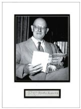PG Wodehouse Autograph Signed Display